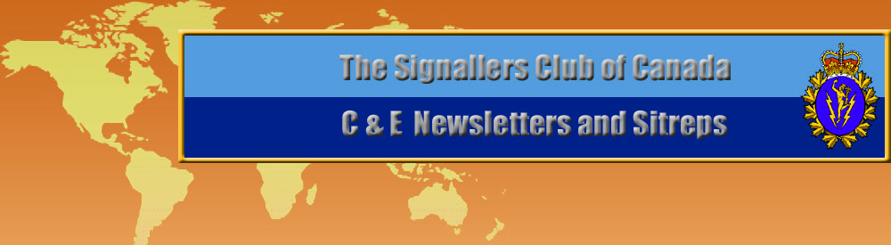 Communications and Electronics Branch Newsletters and Sitreps