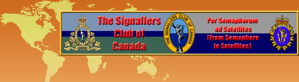 The Signallers Club of Canada Home Page